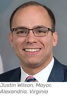 Alexandria Mayor Justin Wilson