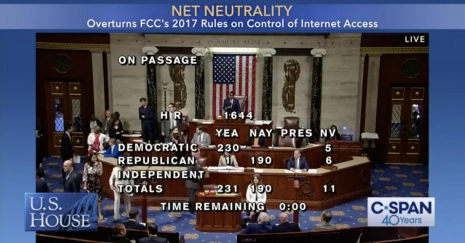 House Vote on Save the Internet Act